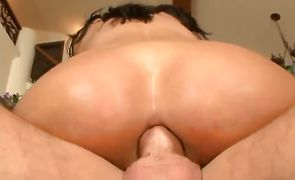 Slender booty gal Veronica Rayne is the true master of cock sucking