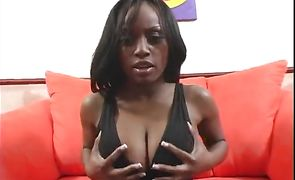Elegant ebony Jada Fire's tang makes her ready for more