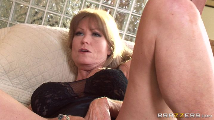 Elegant busty maid Darla Crane eagerly bends over for a brutal hunk