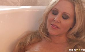 Appetizing blonde Julia Ann can't wait to feel a rock hard sausage in her bum