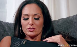 Salacious sweetheart Ava Addams with large tits got fucked in the ass until she started moaning and screaming from pleasure