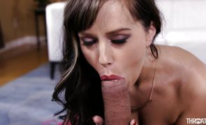 Sexual brunette hottie Alana Cruise's juice nana receives a thorough and fierce dicking