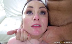 Wicked woman Veruca James with round natural tits seductress enjoys penetration in her pink cuchy