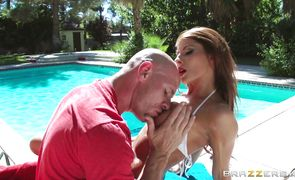 Lewd busty chick Madison Ivy is ready for some horny and hot action