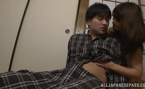 Naked oriental cutie Naomi Sugawara willingly bends over to be plowed like a whore