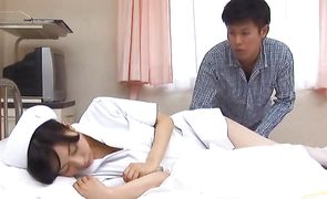 Attractive hottie Hina Hanami with curvy tits 's perfect fanny is guaranteed to make him hard