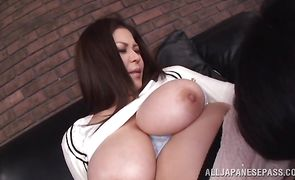 Cheerful asian Yuuki Sakurai gets her vag plowed with no regrets