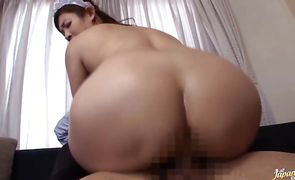 Sensational girlfriend Mari Hosokawa and lad are having steamy sex all day long and enjoying it a lot