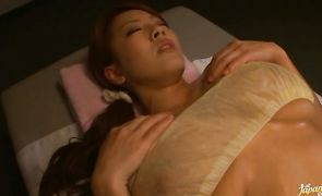Luscious exotic maiden Hitomi Tanaka has a really well pussy fuck
