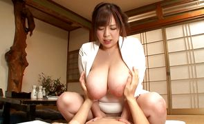 Dirty Ran Niyama got fingerfucked from the back until she started moaning