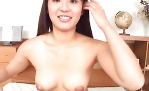Ambitious exotic sweetheart works out on a hard shaft
