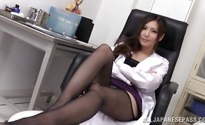 Playsome Yuna Shiina gets licked and fucked