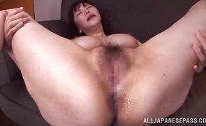 Pipe loving insatiable Anri Okita with great tits were caught on tape deepthroating but she didn't care about it a lot