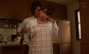 Frisky Ryoka Miyabe is about to get fucked by lover like never before