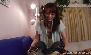 Sexy exotic Yui Hatano wants her juice tang pounded hard