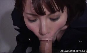 Sweet oriental chick Ryo Tsujimoto got fucked and it looks like she liked it