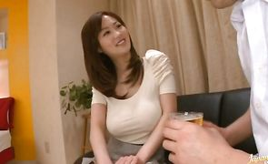 Magnificent Sayuki Kanno loves to suck and ride phallus