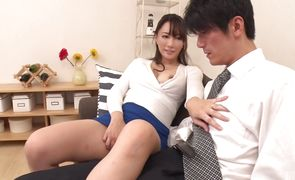 Mesmerizing japanese Kotone Kuroki eagerly bends over to receive an intense dicking