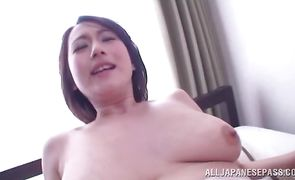 Ravishing eastern diva with curvy tits loves to be doggy styled by her man's boner