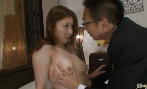 Magical nipponese Yui Tatsumi is eager to be fucked hard and wild