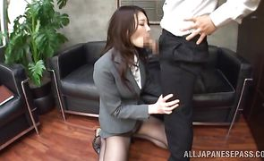 Beguiling asian beauty Sae Aihara got fucked and enjoyed every single second of her adventure