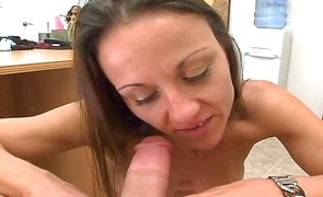 Hot brunette honey Ryder is having her first fuck with a new boyfriend
