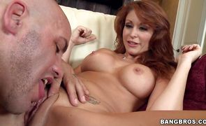 Sinful Monique Alexander with impressive tits is having casual sex adventures